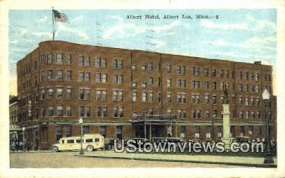 Albert Hotel - Albert Lea, Minnesota MN Postcard