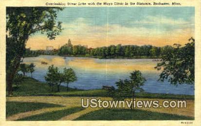 Silver Lake, Mayo Clinic - Rochester, Minnesota MN Postcard