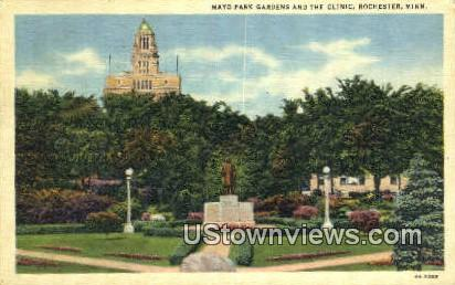 Mayo Park - Rochester, Minnesota MN Postcard