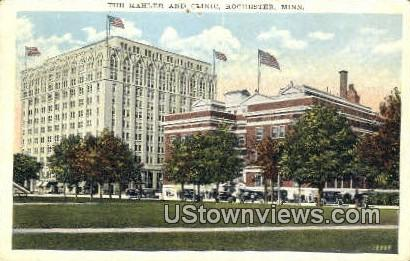 Kahler & Clinic - Rochester, Minnesota MN Postcard