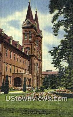 St. John's University - St. Cloud, Minnesota MN Postcard