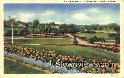 Solders' Field - Rochester, Minnesota MN Postcard