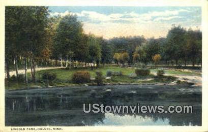 Lincoln Park - Duluth, Minnesota MN Postcard