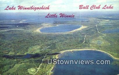 Lake Winnibigoshish - Ball Club Lake, Minnesota MN Postcard