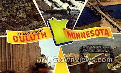 Duluth, MN, Duluth, Minnesota Postcard
