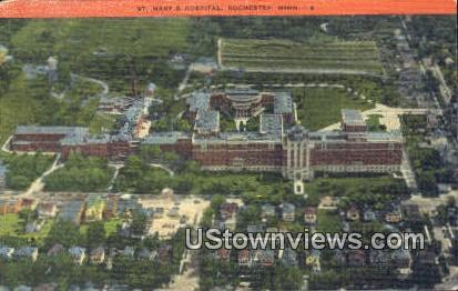 St. Mary's Hospital - Rochester, Minnesota MN Postcard