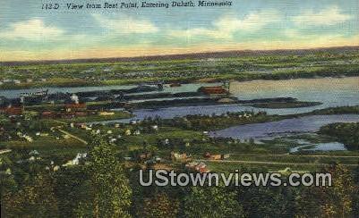 Rest Point - Duluth, Minnesota MN Postcard