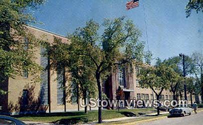 Stewart Hall, State College - St. Cloud, Minnesota MN Postcard