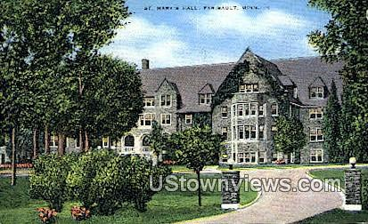 St. Mary's Hall - Faribault, Minnesota MN Postcard