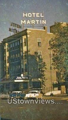 Martin Hotel - Rochester, Minnesota MN Postcard