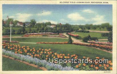Soldiers' Field - Rochester, Minnesota MN Postcard