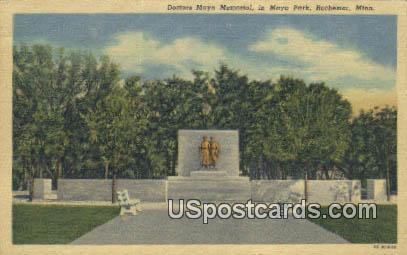 Doctors Mayo Memorial - Rochester, Minnesota MN Postcard