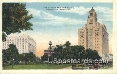 Kahler & New Clinic - Rochester, Minnesota MN Postcard