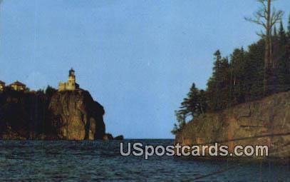 Split Rock Lighthouse - Duluth, Minnesota MN Postcard