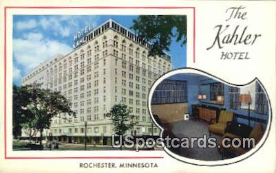 The Kahler Hotel - Rochester, Minnesota MN Postcard