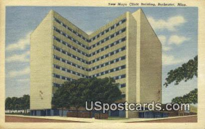 New Mayo Clinic Building - Rochester, Minnesota MN Postcard