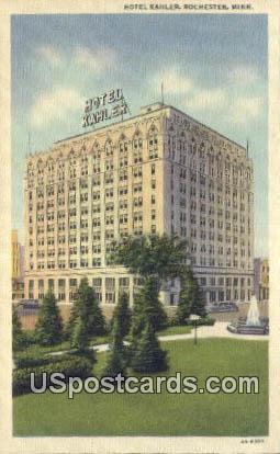 Hotel Kahler - Rochester, Minnesota MN Postcard