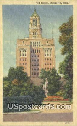 The Clinic - Rochester, Minnesota MN Postcard