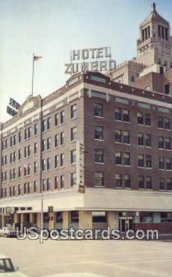 Hotel Zumbro - Rochester, Minnesota MN Postcard