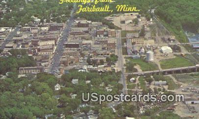 Faribault, Minn Postcard      ;      Faribault, Minnesota