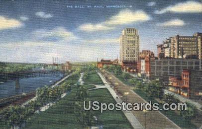 The Mall - St. Paul, Minnesota MN Postcard