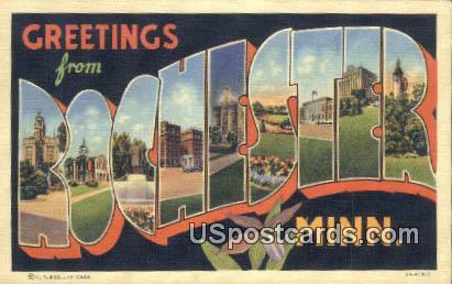 Rochester, Minn Postcard      ;      Rochester, Minnesota