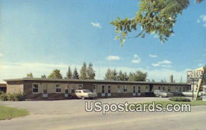 Koke's Motel - Eveleth, Minnesota MN Postcard