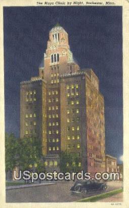 Mayo Clinic - Rochester, Minnesota MN Postcard