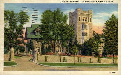 Home in Rochester - Minnesota MN Postcard