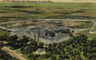 Minnesota State Reformatory - St. Cloud Postcard