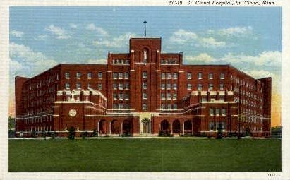 St. Cloud Hospital - Minnesota MN Postcard