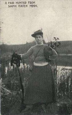 A Fair Hunter - South Haven, Minnesota MN Postcard