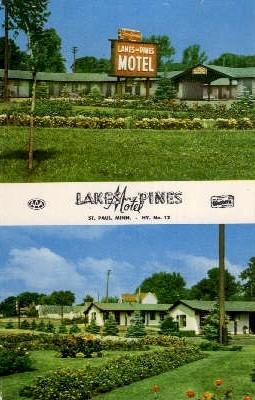 Lakes and Pines Motel - St. Paul, Minnesota MN Postcard