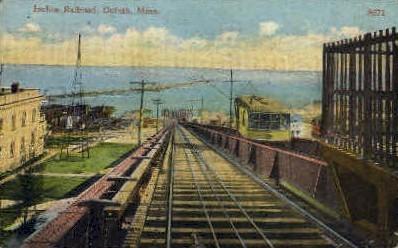Incline Railroad  - Duluth, Minnesota MN Postcard