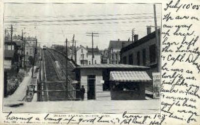 Incline Railway  - Duluth, Minnesota MN Postcard
