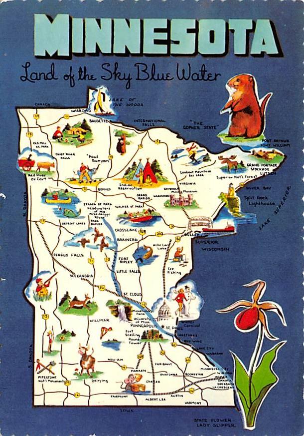 Land of 10,000 Lakes MN