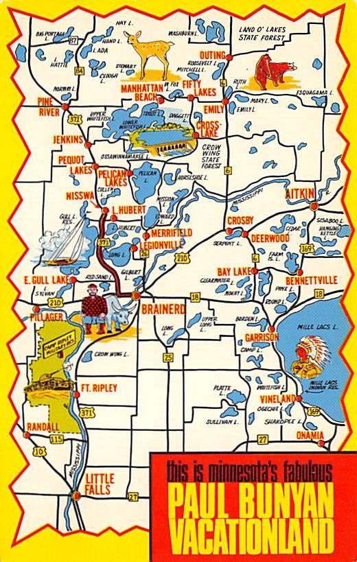 Minnesota Map MN