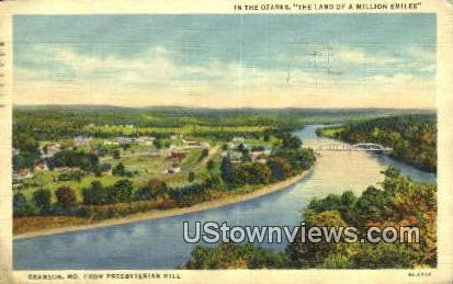 The Ozarks, Million Smiles - Branson, Missouri MO Postcard