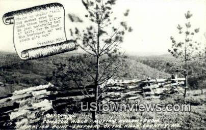 Compton Ridge - Branson, Missouri MO Postcard