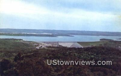 Ozark Playground, Table Rock Dam - Branson, Missouri MO Postcard