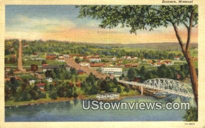 Branson, Missouri, Branson, MO Postcard