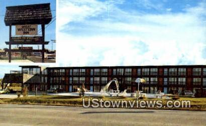 Great Western Inn - Branson, Missouri MO Postcard
