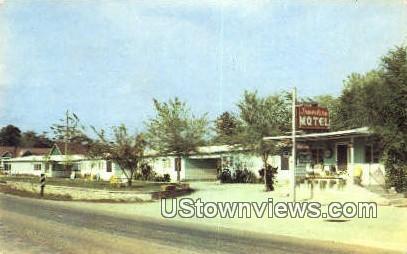Traveler's Motel - Branson, Missouri MO Postcard