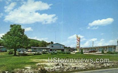 Trout Motor Lodge - Branson, Missouri MO Postcard