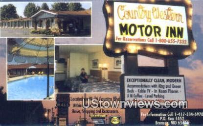 Country Western Motor Inn - Branson, Missouri MO Postcard