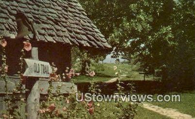 Old Trail - Branson, Missouri MO Postcard