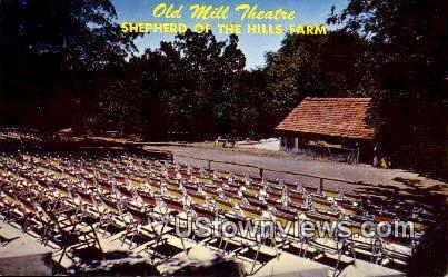 Old Mill Theatre - Branson, Missouri MO Postcard