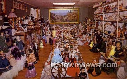 Mary Trimble Doll Collection - Branson, Missouri MO Postcard