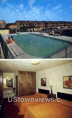 Hi-Ho Motel - Branson, Missouri MO Postcard