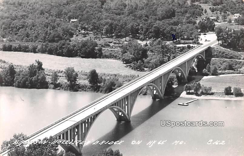 Hollister Bridge - Branson, Missouri MO Postcard